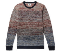 Slim-fit Space-dyed Linen Sweater - Multi
