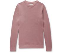 Robin Stretch Cotton-Blend Piqué Sweatshirt