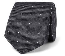8cm Polka-dot Silk-grenadine Tie