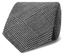8cm Prince of Wales Checked Silk and Wool-Blend Tie