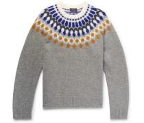 Fair Isle Shetland Wool Sweater