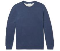 Brushed Loopback Cotton-jersey Sweatshirt