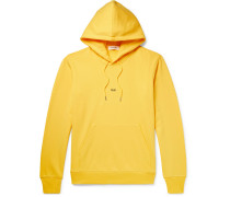 Taxi Loopback Cotton-jersey Hoodie - Yellow