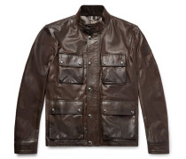 Brad 2.0 Waxed-leather Jacket