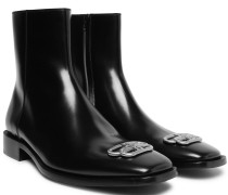 Rim BB Appliquéd Leather Chelsea Boots