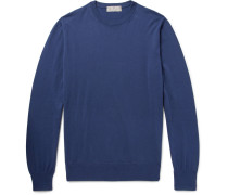 Slim-fit Cotton Sweater