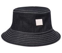 Buk Logo-Appliquéd Denim Bucket Hat