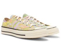 Chuck 70 Marbled Canvas Sneakers