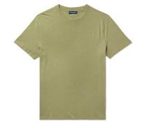 Mazola Slub Cotton and Linen-Blend Jersey T-Shirt
