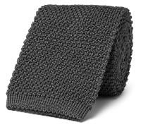 6.5cm Knitted Silk Tie
