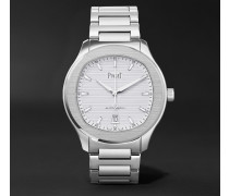 Polo S Automatic 42mm Stainless Steel Watch - Silver
