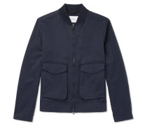 Cotton-twill Blouson Jacket