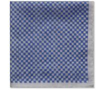 Checkerboard Cotton Pocket Square