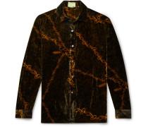 Printed Velvet Shirt