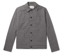 Buckland Prince of Wales Checked Cotton-Blend Jacket