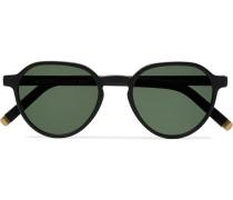 Les Sun Round-Frame Acetate and Gold-Tone Sunglasses