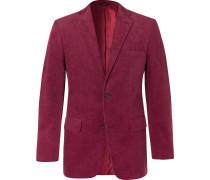 Slim-Fit Cotton-Corduroy Suit Jacket