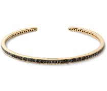 14-Karat Gold Diamond Cuff