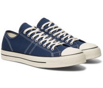 Lucky Star Canvas Sneakers - Navy