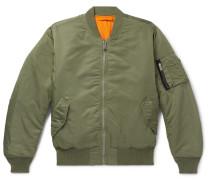 Pilot Logo-appliquéd Shell Bomber Jacket