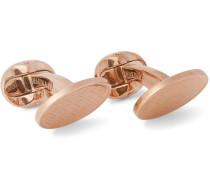 + Deakin & Francis Rose Gold-plated Cufflinks