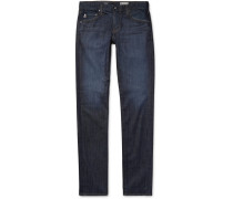 Dylan Skinny-fit Stretch-denim Jeans - Dark denim
