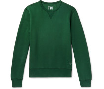 Fleece-back Cotton-jersey Sweatshirt