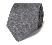 Culcross 8.5cm Linen-Jacquard Tie