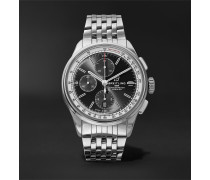 Premier Chronograph 42mm Stainless Steel Watch - Black