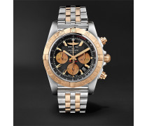 Chronomat B01 Chronograph 44mm Stainless Steel and Gold Watch, Ref. No. CB0110121B1C1