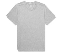 Two-Pack Mélange Pima Cotton-Jersey T-Shirts