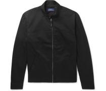 Slim-fit Cotton-twill Blouson Jacket