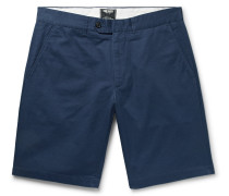 Hudson Slim-fit Cotton-twill Chino Shorts