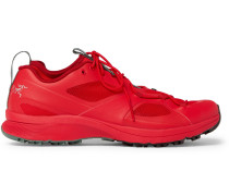 Norvan Vt Rubber And Mesh Sneakers