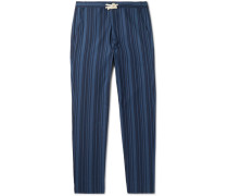 Farrow Striped Organic Cotton Pyjama Trousers