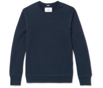 Loopback Cotton-jersey Sweatshirt - Navy