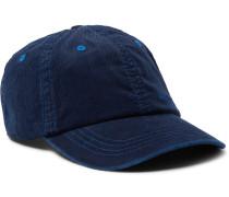 Logo-Embroidered Cotton-Blend Corduroy Baseball Cap