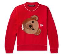 Intarsia Virgin Wool Sweater