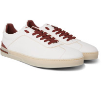 70's Walk Full-grain Leather Sneakers