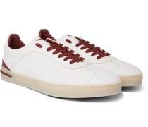 70's Walk Full-grain Leather Sneakers - White
