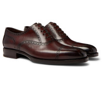 Wessex Burnished-Leather Brogues