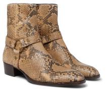 Wyatt Python Harness Boots - Brown