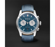 Zurich Chronograph 42mm DLC-Coated Stainless Steel and Kevlar Watch, Ref. No. CH_MO_034_06_L