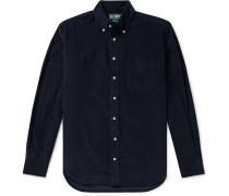Button-Down Collar Cotton Corduroy Shirt