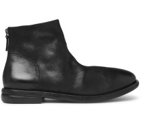 Stag Leather Chelsea Boots - Black