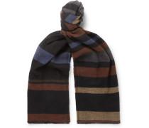 Vestry Striped Cotton Scarf