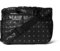 Array Logo-print Ripstop-shell Messenger Bag - Black
