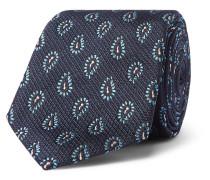 7cm Paisley Silk-jacquard Tie