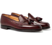Gabriel Leather Tasselled Loafers