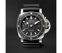 Luminor Submersible 1950 Amagnetic 3 Days Automatic 47mm Titanium And Rubber Watch